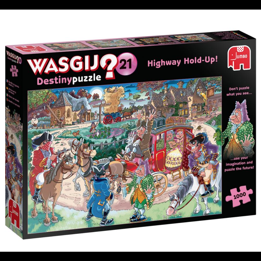 Wasgij Destiny 21 - Highway Hold-up!  -  1000 stukjes-1