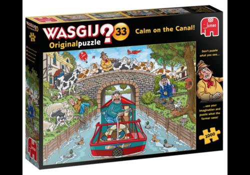 Jumbo Wasgij Original 33  - Calme sur le Canal ! - 1000 pièces