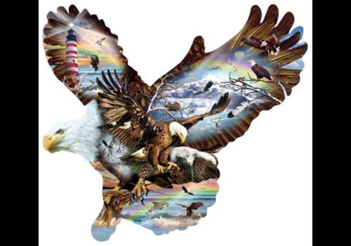 SUNSOUT L'œil de l'aigle - 1000 pièces