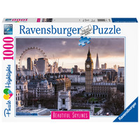 thumb-The skyline of London - puzzle of 1000 pieces-1