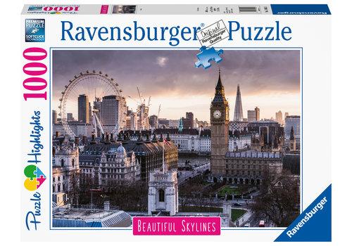 De skyline van Londen - 1000 stukjes