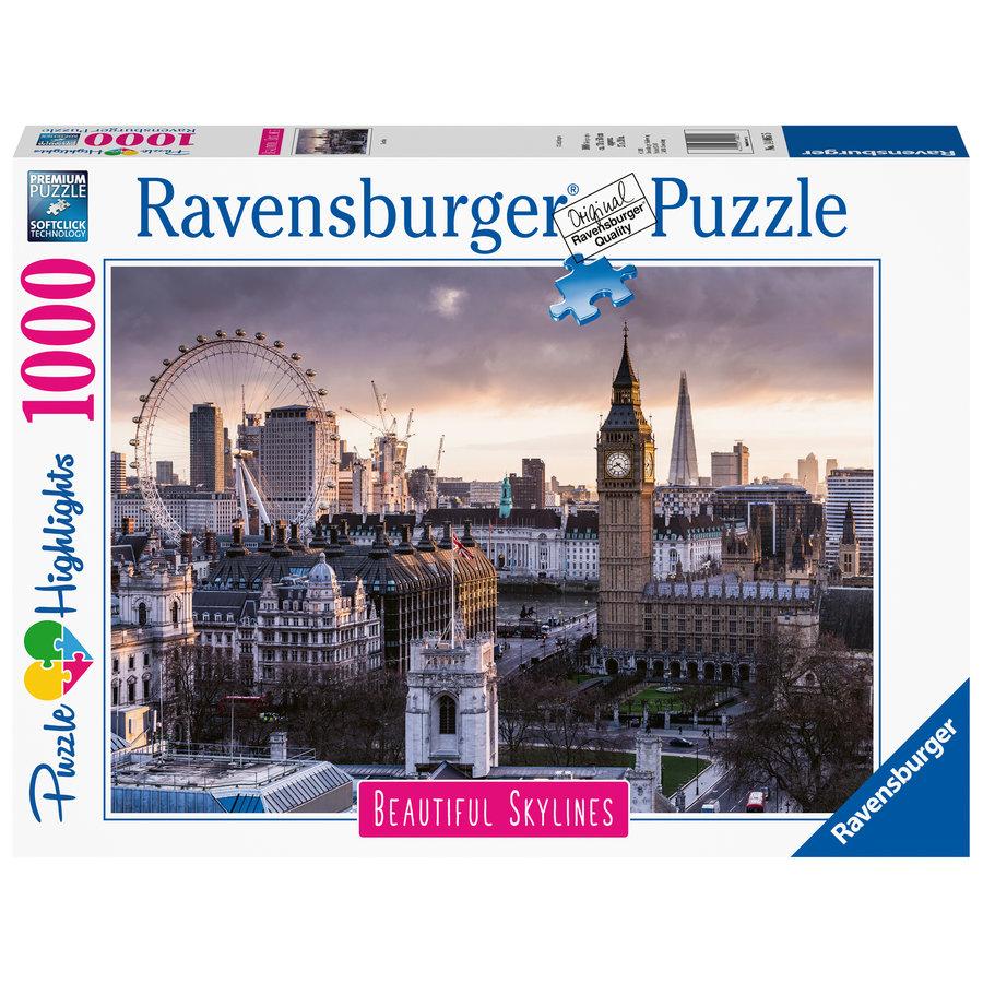 De skyline van Londen - 1000 stukjes-1