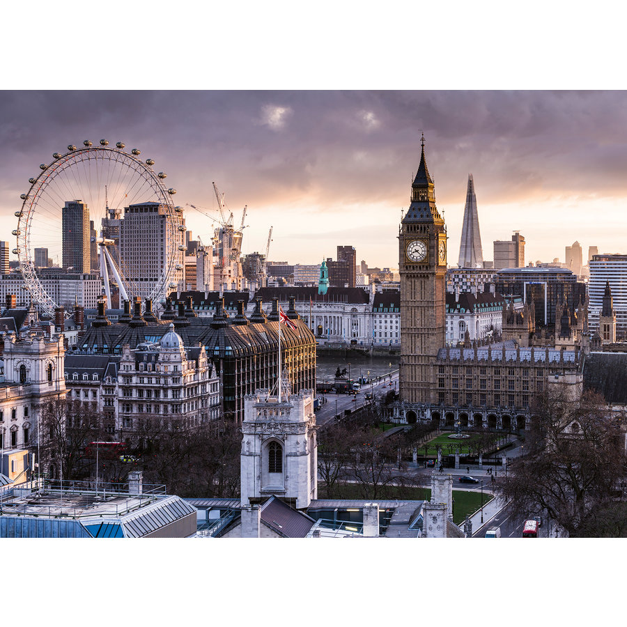 The skyline of London - puzzle of 1000 pieces-2