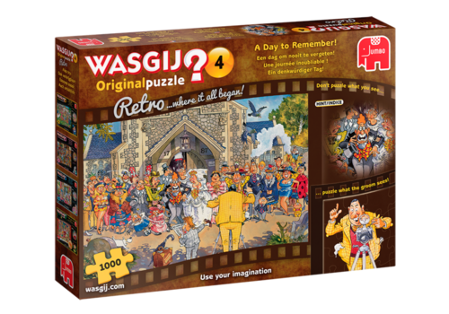 Wasgij Original 4 Retro - 1000 pieces