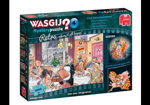Jumbo Wasgij Mystery Retro 4 - 1000 pièces