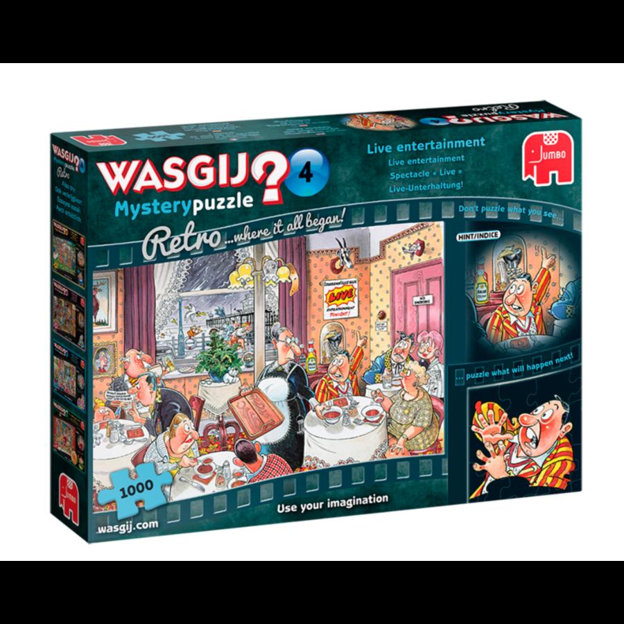 Wasgij Mystery 4 Retro - Live entertainment - 1000 stukjes-1