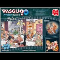 thumb-Wasgij Mystery 4 Retro - Live entertainment - 1000 stukjes-2