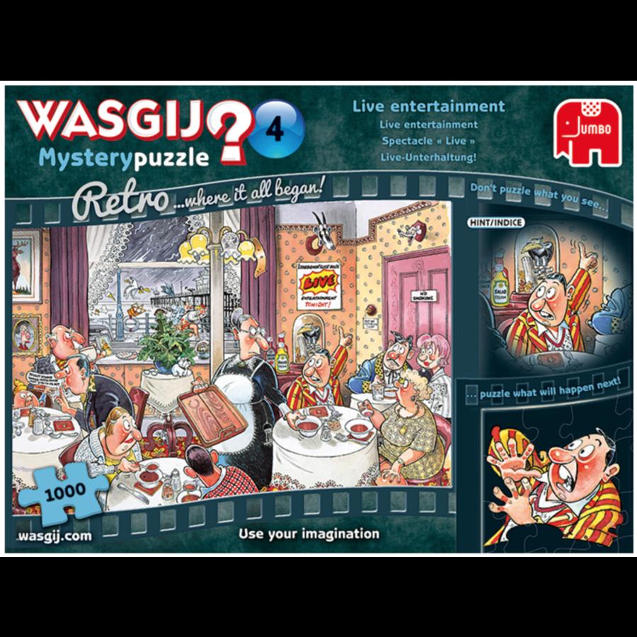 Wasgij Mystery 4 Retro - Live entertainment - 1000 stukjes-2