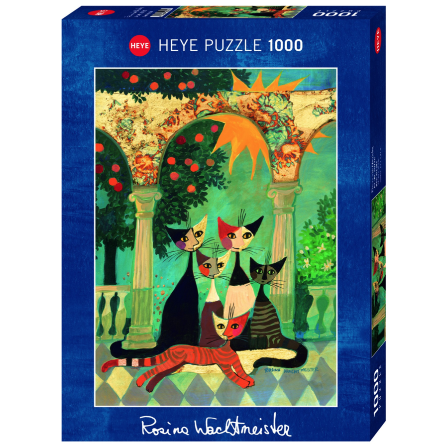 The Arcade - R. Wachtmeister - puzzle of 1000 pieces-1