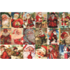 Jumbo Vintage Santa's - puzzel van 2000 stukjes