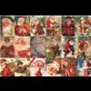 Jumbo Vintage Santa's - puzzle of 2000 pieces