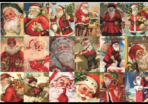 Vintage Santa's - 2000 pieces