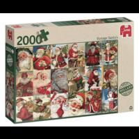 thumb-Vintage Santa's - puzzel van 2000 stukjes-3
