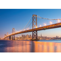 thumb-The skyline of San Francisco - puzzle of 1000 pieces-1