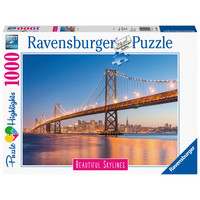 thumb-The skyline of San Francisco - puzzle of 1000 pieces-2
