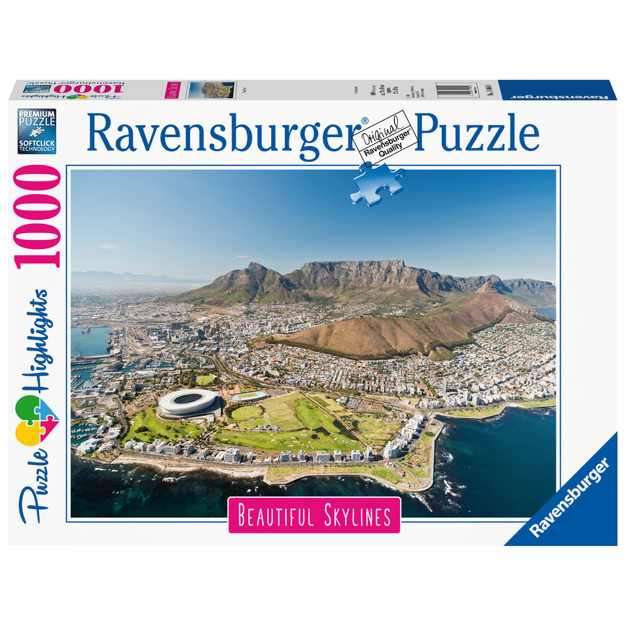 The skyline of  Cape Town - puzzle of 1000 pieces-2