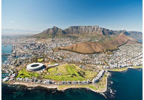 De skyline van Cape Town - 1000 stukjes