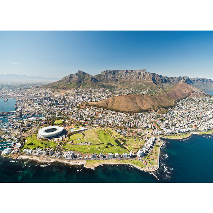 The skyline of  Cape Town - puzzle of 1000 pieces-1