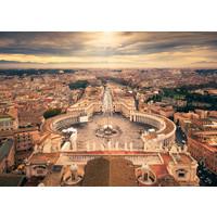 thumb-De skyline van het Vaticaan - 1000 stukjes-1
