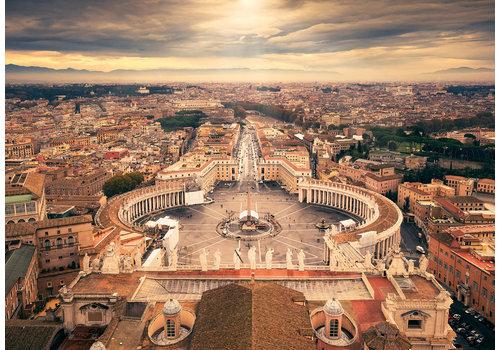 De skyline van het Vaticaan - 1000 stukjes