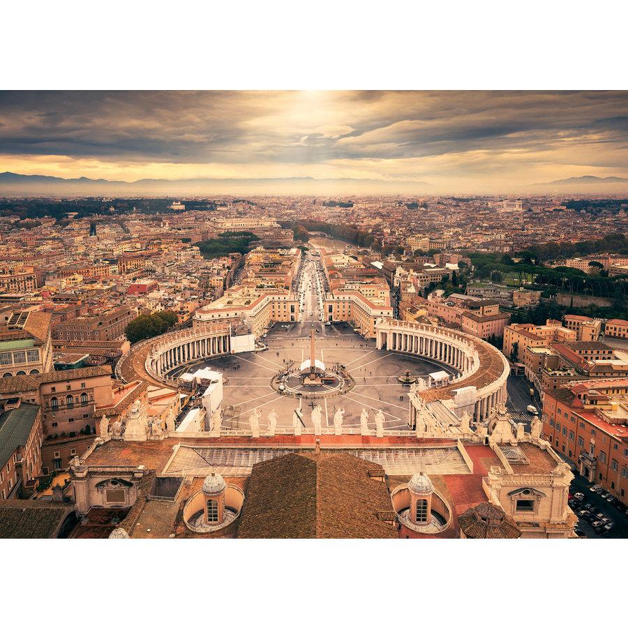 De skyline van het Vaticaan - 1000 stukjes-1