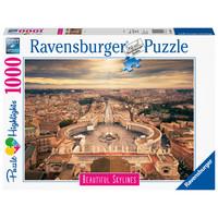 thumb-De skyline van het Vaticaan - 1000 stukjes-2