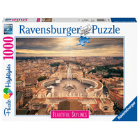 thumb-The skyline of the Vatican - puzzle of 1000 pieces-2