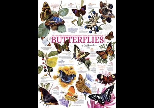 Cobble Hill Papillon Citations - 1000 pièces