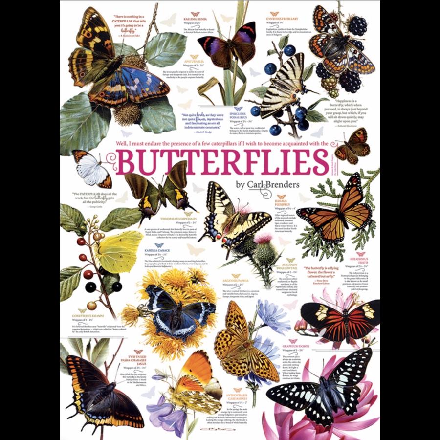 Vlinder Citaten - 1000 stukjes-1