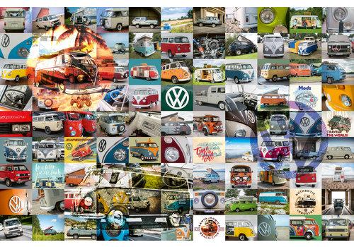 99 VW Bulli Moments - 3000 pieces