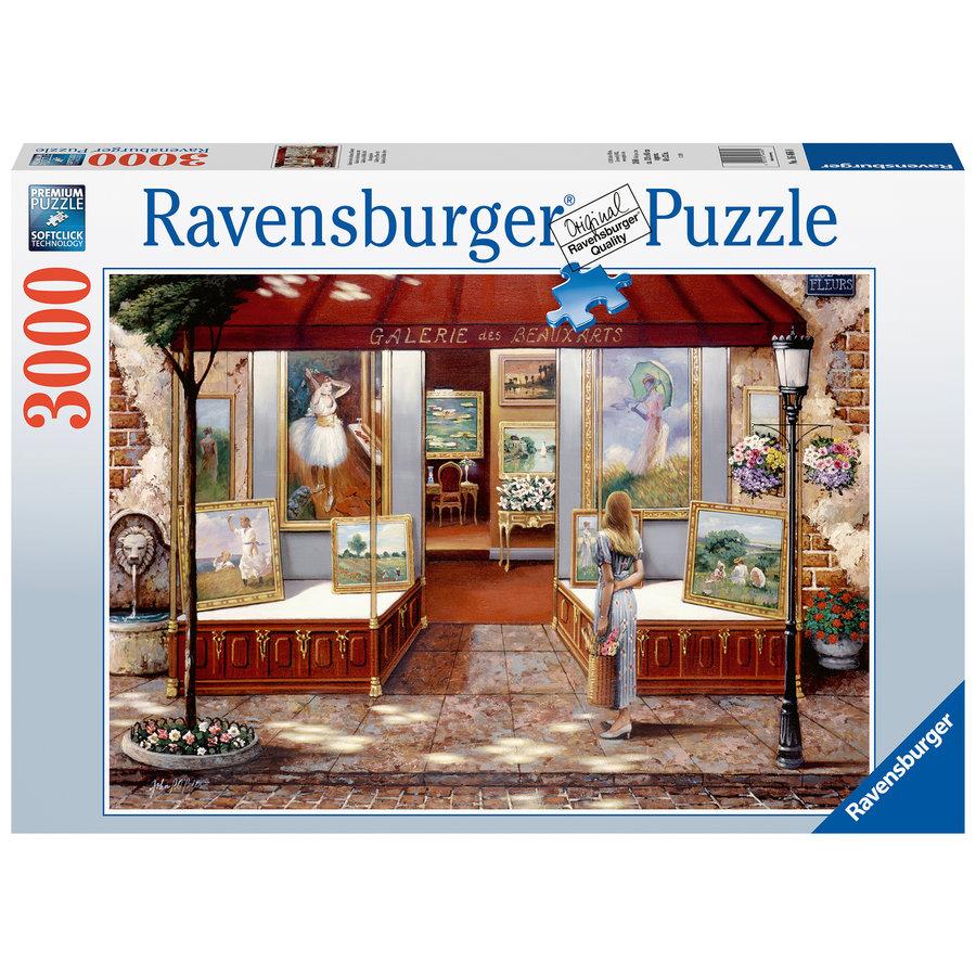 Gallery of  Fine Arts- puzzle of 3000 pieces-2