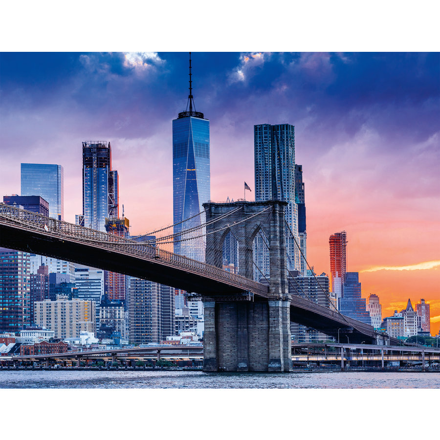 De Brooklyn à Manhattan  - puzzle de 2000 pièces-1