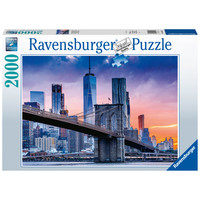 thumb-From Brooklyn to Manhattan  - puzzle of 2000 pieces-2