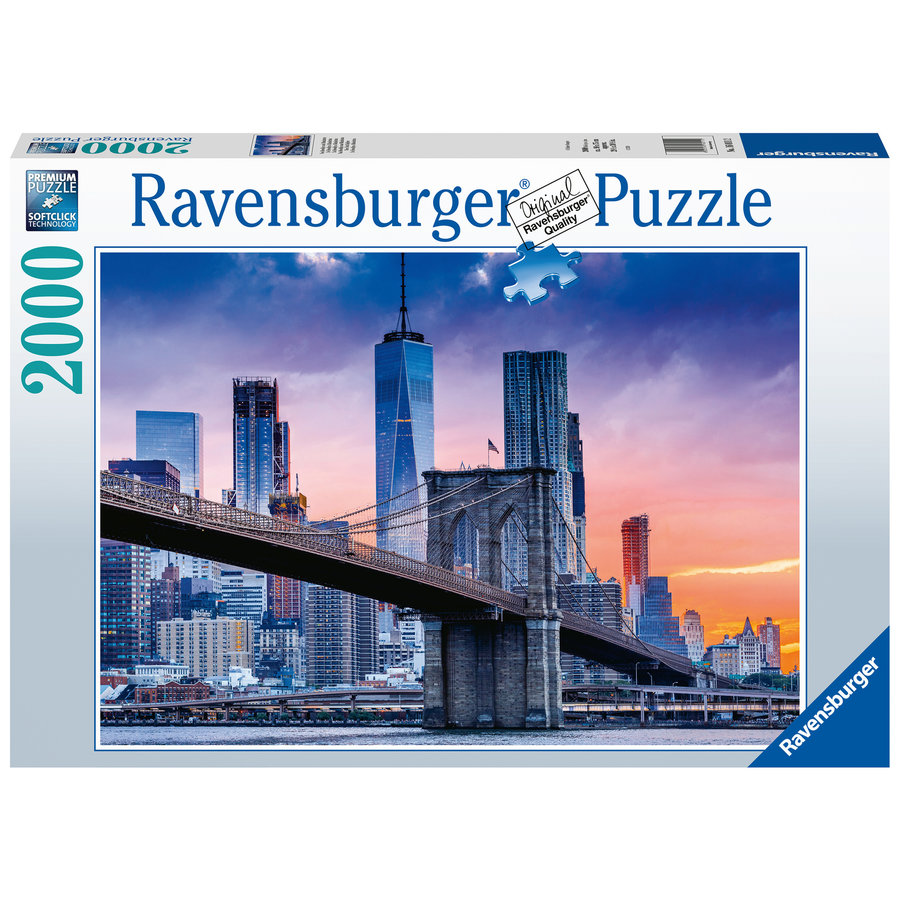 From Brooklyn to Manhattan  - puzzle of 2000 pieces-2