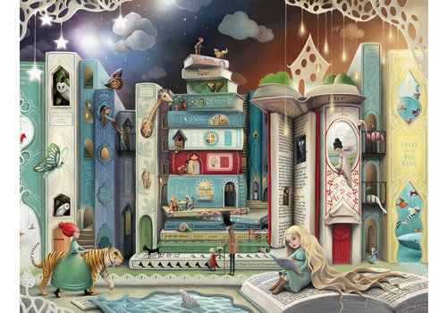 Ravensburger La rue des romans - 2000 pièces
