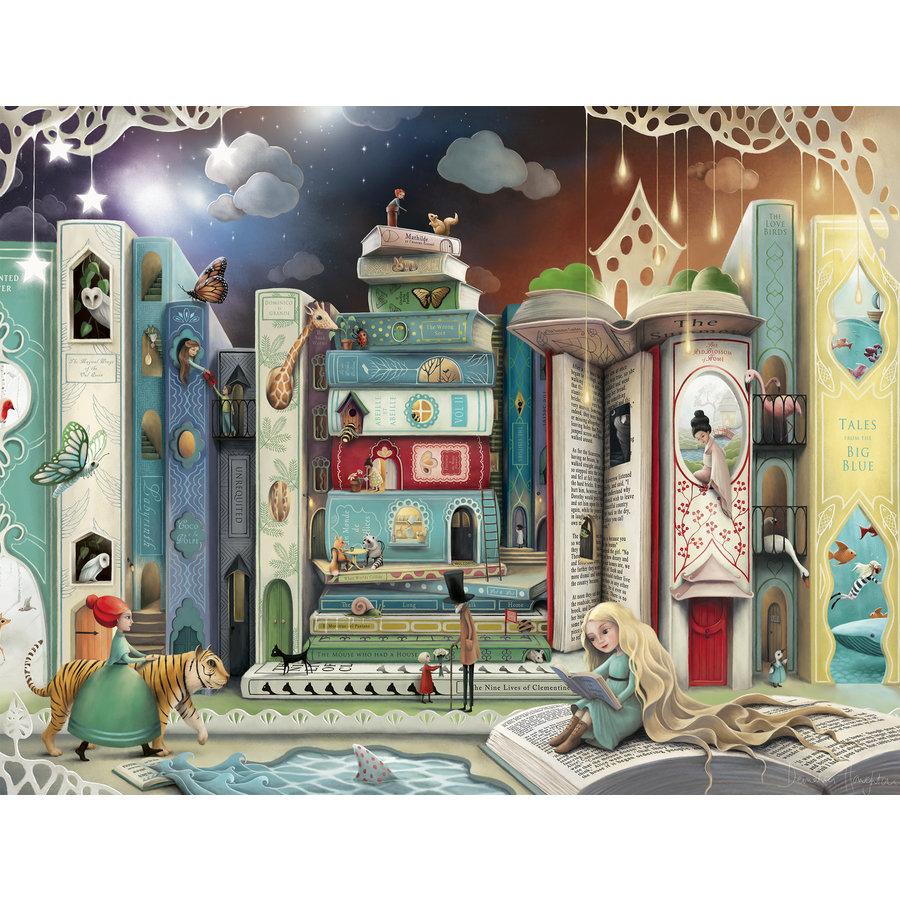 De straat van de romans - puzzel van 2000 stukjes-1