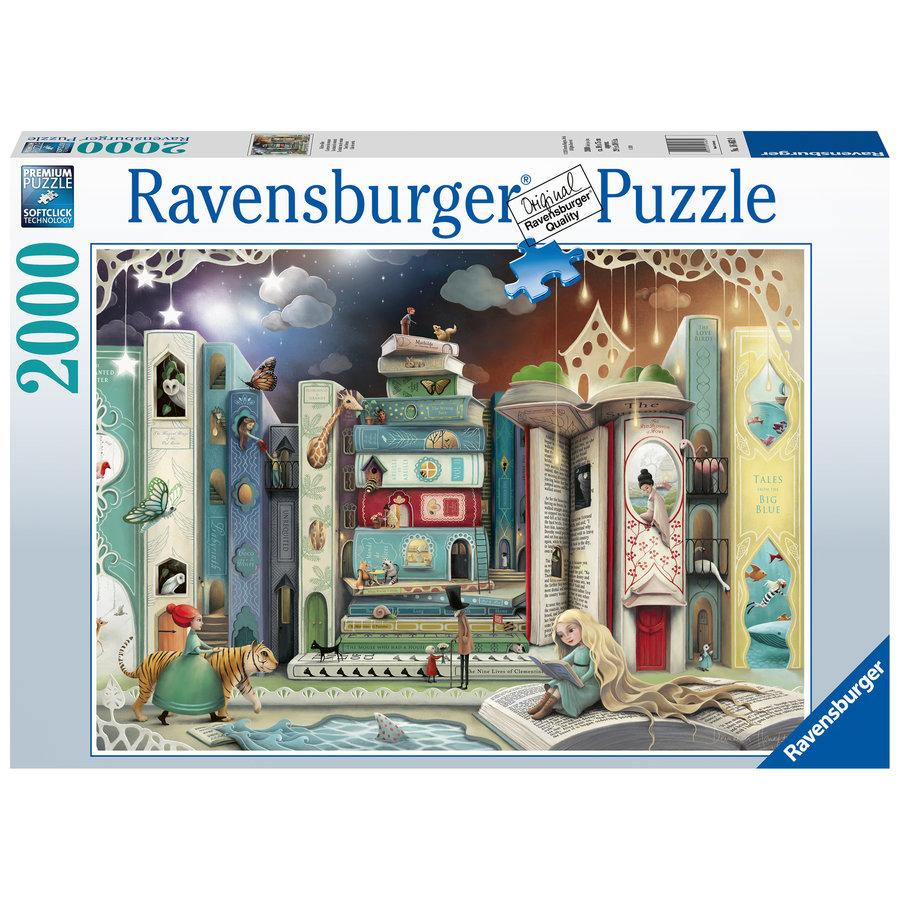 De straat van de romans - puzzel van 2000 stukjes-2