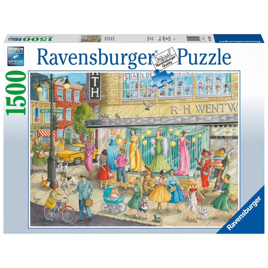 Sidewalk Fashion - puzzel van 1500 stukjes-2