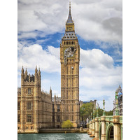 thumb-Funny cat on Big Ben - puzzle of 1500 pieces-1