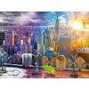 Ravensburger New York, winter en zomer - puzzel van 1500 stukjes