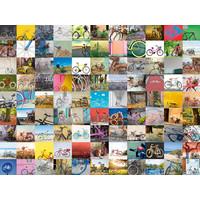 thumb-99 fietsen en meer... - puzzel van 1500 stukjes-1