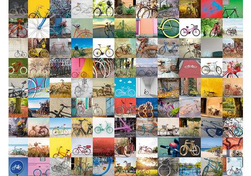 Ravensburger 99 fietsen en meer...  - 1500 stukjes