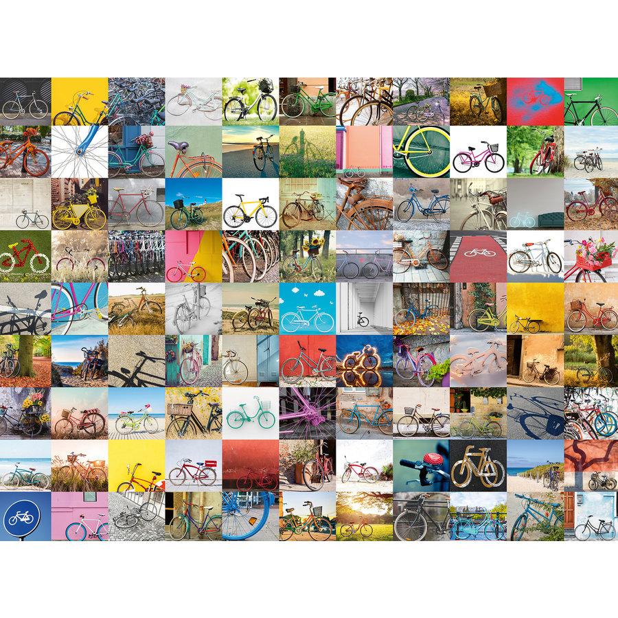 99 fietsen en meer... - puzzel van 1500 stukjes-1