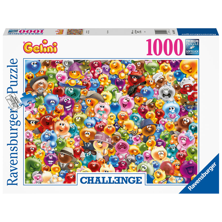 Gelini - Challenge - puzzle of 1000 pieces-2