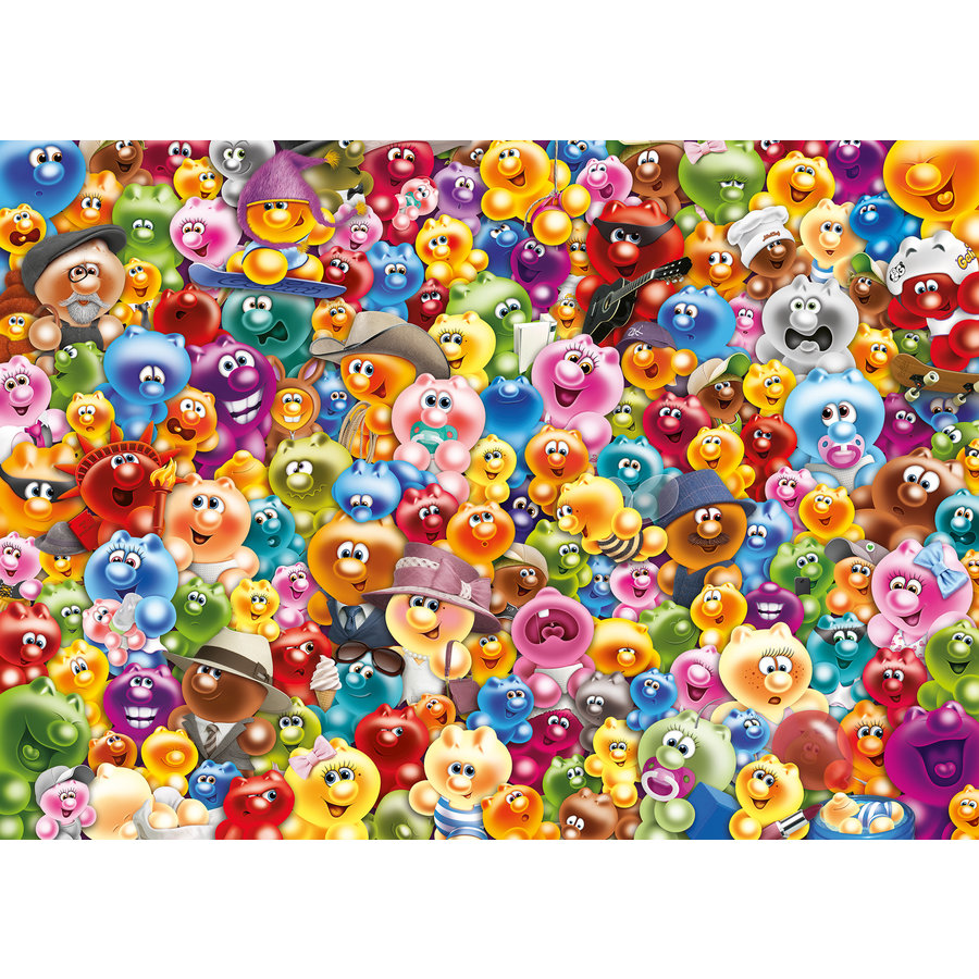 Gelini - Challenge - puzzle of 1000 pieces-1