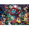 Ravensburger Almost everybody is mad - puzzle of 1000 pieces