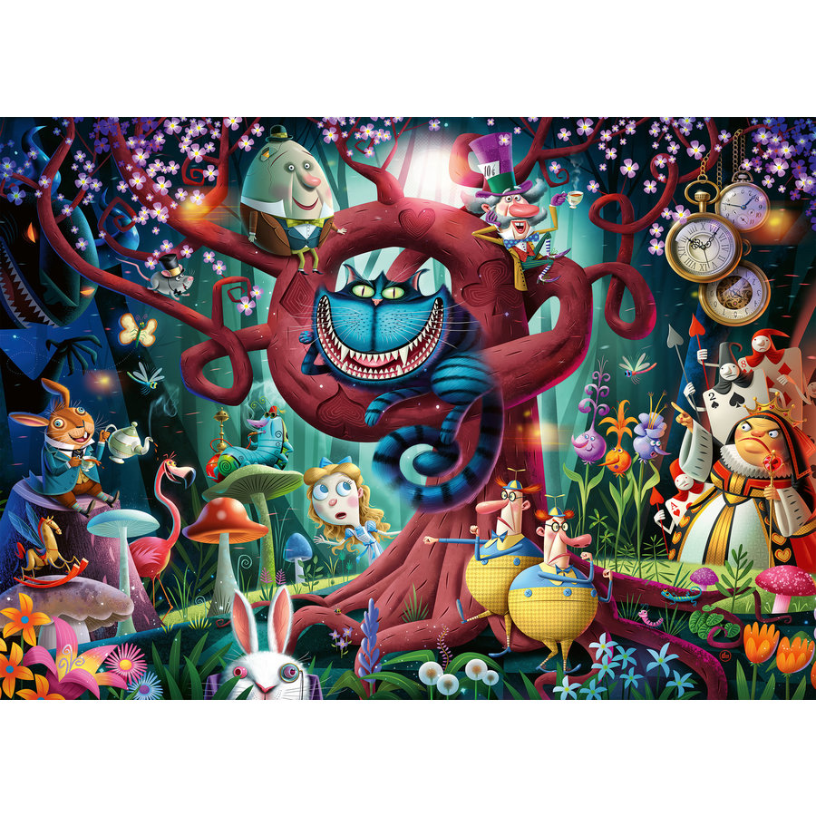 Almost everybody is mad - puzzle of 1000 pieces-1