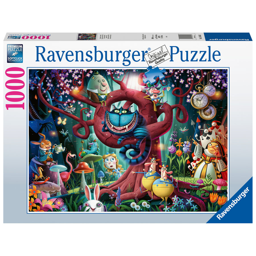 Almost everybody is mad - puzzle of 1000 pieces-2
