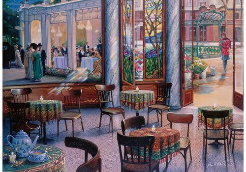 Café-bezoek - 1000 stukjes