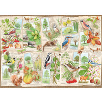 thumb-Les arbres merveilleux - puzzle de 1000 pièces-1